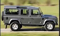 Land Rover Defender Black