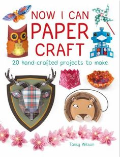 Now I Can Paper Craft is the follow-up to GMC's recently published Now I Can Sew. This book is the perfect introduction for children aged 8+ to the amazing world of paper crafting. The book contains 20 diverse projects ranging in complexity from paper windmills and pop-out greetings cards to quilling and three-dimensional animal heads.