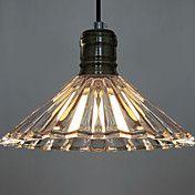 60W Artistic Modern Pendant Light with Glass ... – USD $ 94.49