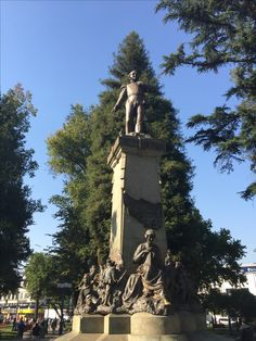 Plaza de Armas de Chillán, Chile. Statue Of Liberty, Highlights, Places To Visit, Explore, Adventure, History, Country, City, Travel