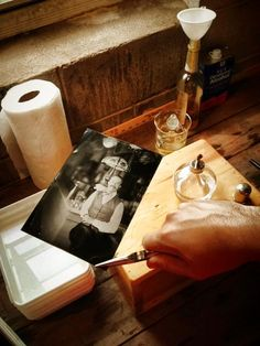 Wet plate photography at Shane Confectionery by Michael Bartolotta