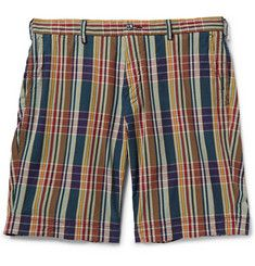 Polo Ralph LaurenMadras-Check Cotton Shorts