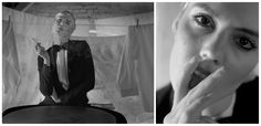 Fashion. Photographed by Fryderyk Danielczyk Art Director Fryderyk Danielczyk Stylist Marleen Art prints Pan Pest Hair: Grzegorz Kozioł & Kaja Rynasiewicz Model: Misha Paulina Czumaczenko, Sylwia Sordyl Made from a negative, original print, Baryte paper, black-and-white photography. Fine art photographs.  www.fryderykdanielczyk.com www.artandlaw.pl