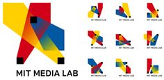 The MIT Media Lab's redesign uses three intersecting spotlights that can be organized in any of 40,000 shapes and 12 color combinations using a custom algorithm. That's enough to supply every new student with her very own logo for 25 years.