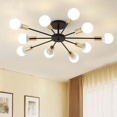 This unique LED lamp is something totally different! Combine several designs and create you own unique light display on your wall or ceiling The lamps are made of aluminum with an LED light strip. You can choose between a warm white and a cold white Mid Century Light Fixtures, Pendant Light Fixtures, Ceiling Light Fixtures, Pendant Lamp, Light Pendant, Ceiling Pendant, Living Room Light Fixtures, Ceiling Light Design, Modern Light Fixtures