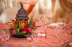 Wishahmon - Wedding Creations:   Moroccan themed centerpieces