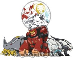 Power Rangers Series, Power Rangers Art, Cute Pokemon, Pokemon Go, Ranger Armor, Power Rangers Megazord, Pokemon Crossover, Hero Time, Team 2