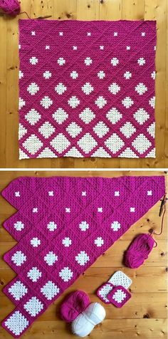 Description of your article Crochet Heart Blanket, Granny Square Blanket, Granny Squares, Simple Designs, Crochet Projects, Snowflakes, Pattern Design, Kids Rugs, Knitting