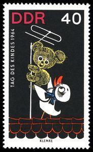 Issued in 1964, DDR - Bummi, Schnatterinchen