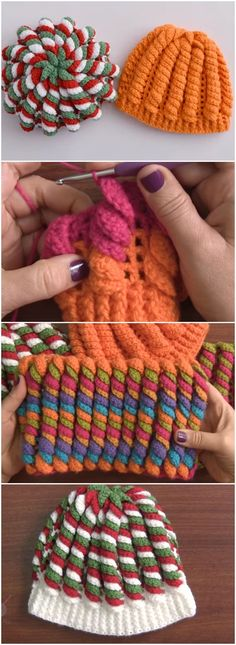 AWESOME Crochet Beanie Hat Serpentine Stitch Free Pattern [Video]