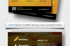 """http://Bakery Flyer Template Fully editable Photoshop Easy to customize Smart object placeholders Optimized for printing Size 8.5""""x11"""" (0.25 bleed) Photoshop PSD File CMYK Colors 300 DPI resolution Print Ready Format Preview image is not included"""
