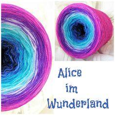 Alice im Wunderland: Hochbauschacryl 8 Farben: schwarz königsblau türkis helltürkis orchid lila violett neonpink