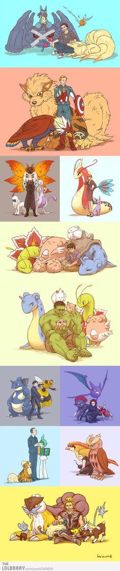 The Poke-vengers!
