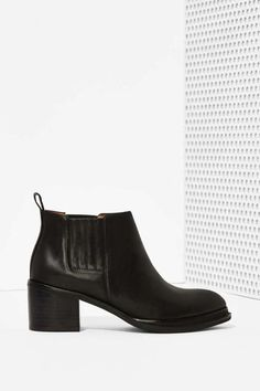 Jeffrey Campbell Eldin Leather Chelsea Boot