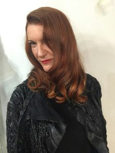 Tracy rocking her #1920s #Blowout by Kathy   #Moroccanoil #Stylescapes #Blowbar in #LagunaBeach #Blowdry #CurlingIron #FlatIron #Laguna #LagunaLocals #Flapper #RockChick #Redhead #Style #Fashion #Hair #PartyHair #Stylist #Salon #Holidays #HolidayParty #Christmas #ChristmasParty #NewYear #NewYearParty