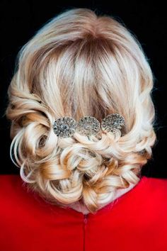 Mother Of The Bride Hairstyles ❤ See more: http://www.weddingforward.com/mother-of-the-bride-hairstyles/ #weddingforward #bride #bridal #wedding