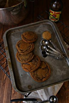Soft and Chewy Old Fashioned Ginger Molasses Cookies
