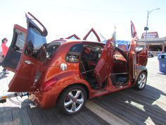 PT Cruiser flip doors