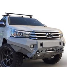 Check out the awesome Tough Toys - Hilux Revo Rival Bumper by Toyota Pickup 4x4, Toyota Trucks, Toyota Cars, Toyota Hilux, Toyota Tacoma, Jeep Mods, Truck Mods, Custom Trucks, Custom Cars