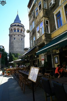 Istanbul,Galata Tower