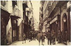 Fotografies Antigues de Lleida: carrer major