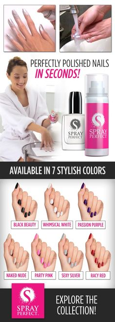 Perfect nails is seconds!