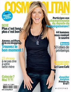 Covers of Cosmopolitan France with Jennifer Aniston, 958 2010 | Magazines | The FMD #lovefmd