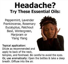 Headache and migraine - what's the difference and how to treat them? - DIY home remedies