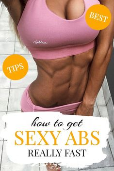 Learn my secrets on how to get lean beautiful abs at home. Just 2 steps I followed to build lean ab lines #getabs Best Ab Workout, Ab Workout At Home, Ab Workouts, Small Waist Workout, Slim Waist Workout, Get Abs Fast, How To Get Abs, Muffin Top Exercises, Belly Fat Diet Plan