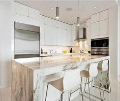 Bright White Miami Condo | House & Home | Photo via Douglas Elliman Real Estate