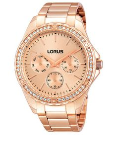 We love this rose-gold ladies sparkle
