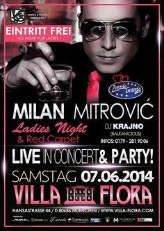 Milan Mitrovic am 07.06.2014 in München Deutschland (Balkanevent)