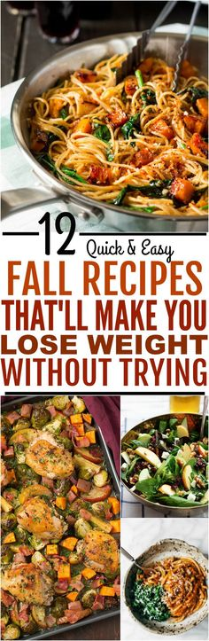 42 weight loss dinner recipes that will help you shrink belly fat 12 healthy fall meals to escape cold weather weight gain forumfinder Images