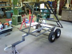Tilt Trailer, Off Road Trailer, Trailer Plans, Metal Projects, Welding Projects, Welding Tools, Best Wagons, Small Tractors, Tractor Implements