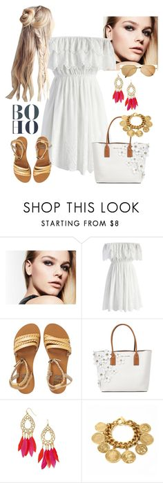 Aire Boho by mariana-cufari on Polyvore featuring moda, Chicwish, Billabong, Marc Jacobs, Ben-Amun and BaubleBar