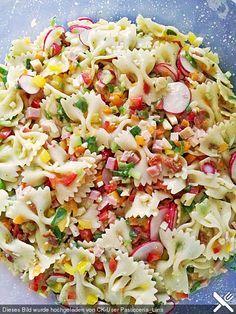Nudelsalat (Rezept mit Bild) von Viniferia   Chefkoch.de