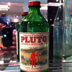Famous Pluto water from French Lick