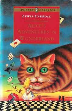 James Marsh. Front cover for Lewis Carroll's Alice's Adventures in Wonderland, Puffin Books, 1994