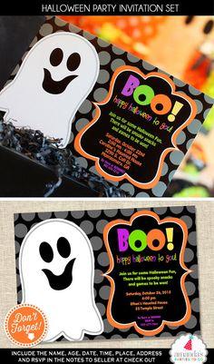 Halloween Invitation Halloween Party por AmandasPartiesToGo