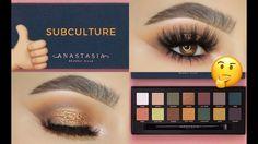 NEW ABH Subculture Palette Tutorial - Sofie Bella