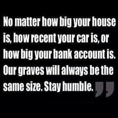 And these days they bury you on top of your family to save space and dough