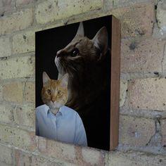 1980's Portrait Studio Cat now featured on Fab.