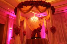 Love the elephant floral sculpture for this #Indian Wedding