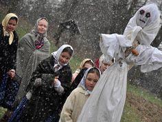 rožnovské slavnosti - vynášení Moreny, vítání jara