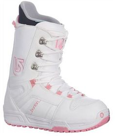 The Burton Casa snowboard boots were designed with a women's specific fit for performance, comfort, and support. The Thin Profile 3D molded tongue offers support, yet remains flexible for a responsive ride. The EVA cushioned outsole supports the footbed and dampens rough riding, and the Imprint Liner ensures snug security, without constricting your feet. The molded EVA footbed enhances responsiveness and riding comfort. Ride in style, and stay comfortable all day in the Burton Casa snowboard…