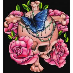 After Light by Michael Madison Tattoo Art Canvas Giclee Fine Art Print - Purple Leopard Boutique