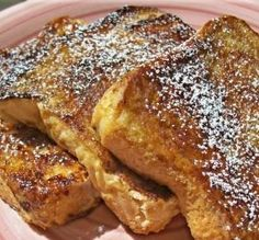 Disney French Toast - husband and kids liked it.