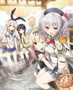 yume no owari,Kashima (Kantai Collection),Kantai Collection,KanColle,Anime,аниме,Kitakami (Kantai Collection),yuudachi (kantai collection),shimakaze (kantai collection)