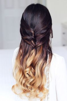 wedding hairstyle idea; via Luxy Hair