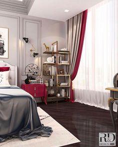 Interior Architecture, Interior Design, Closet Bedroom, Curtains, Home Decor, Architecture Interior Design, Nest Design, Blinds, Decoration Home